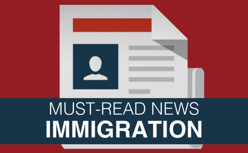 Immigration Reform News Today / Qué Pasa En Inmigración, September 26, 2016